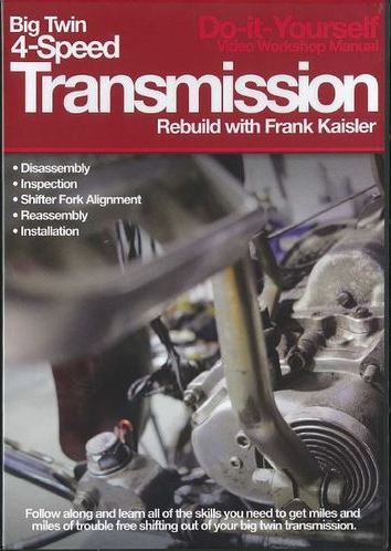Big Twin 4-speed Transmission Rebuild DVDs